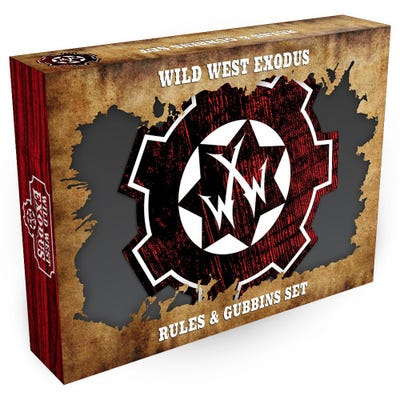 Wild West Exodus Rules & Gubbins Set