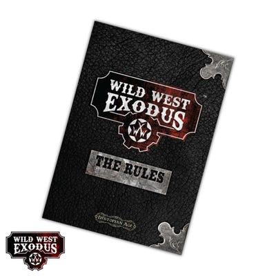 Wild West Exodus Rulebook 2nd Edition Softback - English