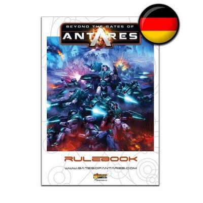 Beyond The Gates Of Antares Rulebook - German