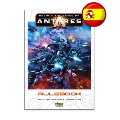 Beyond The Gates Of Antares Rulebook - Spanish