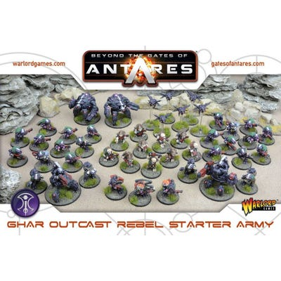 Ghar Outcast Rebel Starter Army