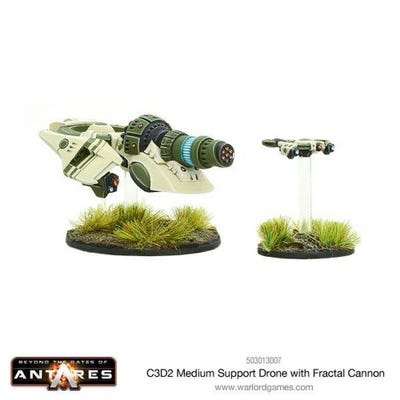 C3D2 Medium Support Drone with Fractal Cannon