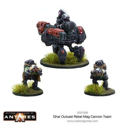 Ghar Outcast Rebel Mag Cannon Team