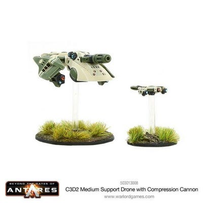 C3D2 Medium Support Drone with Compression Cannon