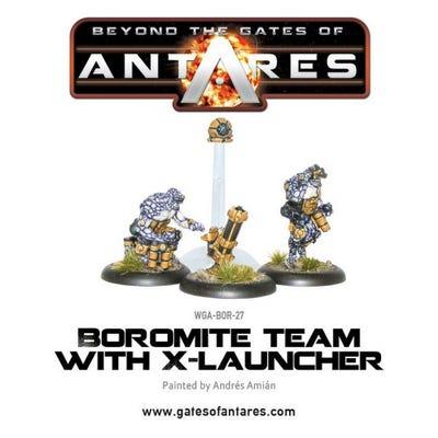 Boromite X-Launcher & Team
