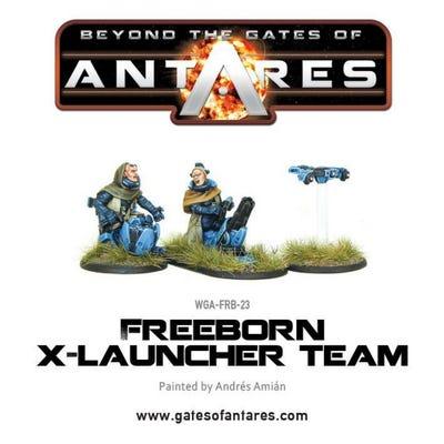 Freeborn X launcher Team