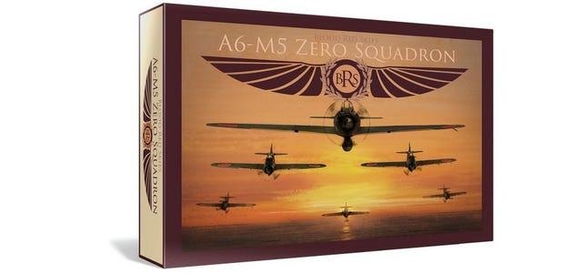 Japanese A6MX 'Zero-Sen' - Squadron, 6 Planes