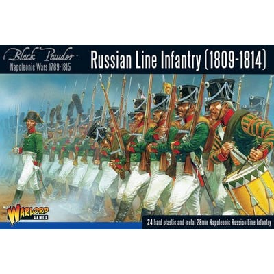 Napoleonic Russian Line Infantry 1809-1814
