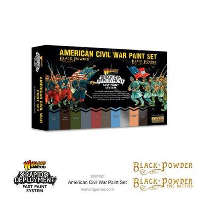 American Civil War Paint Set