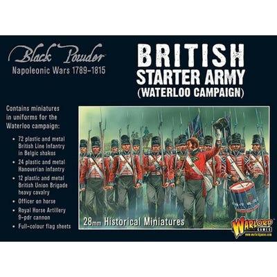 Napoleonic British Starter Army - Waterloo Campaign