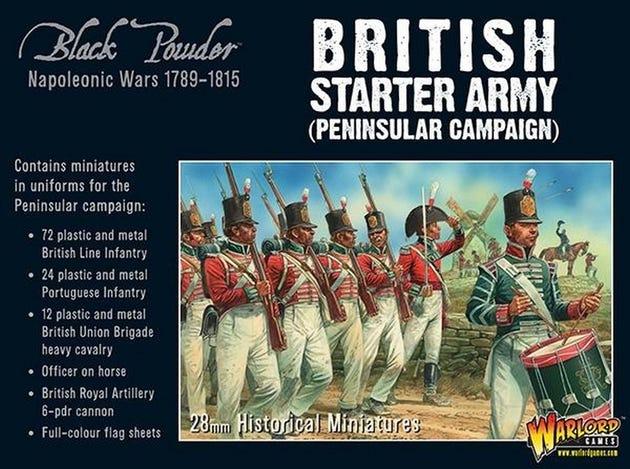 Napoleonic British Starter Army - Peninsular Campaign