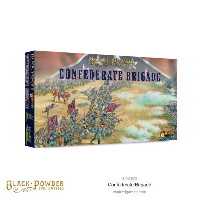 Black Powder Epic Battles: ACW Confederate Brigade