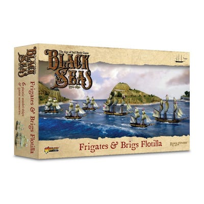Frigates & Brigs Flotilla 1770-1830