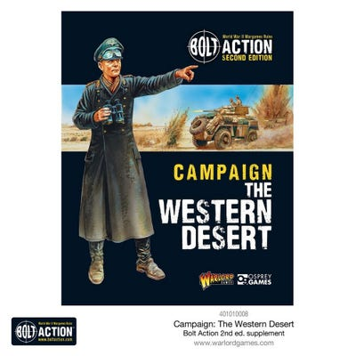 Bolt Action Western Desert Campaign Book