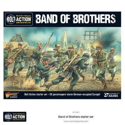 """Bolt Action 2 Starter Set """"Band of Brothers"""" - French"""