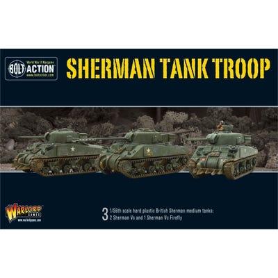 British Sherman V Troop Set