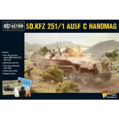 Sd.Kfz 251 C Hanomag