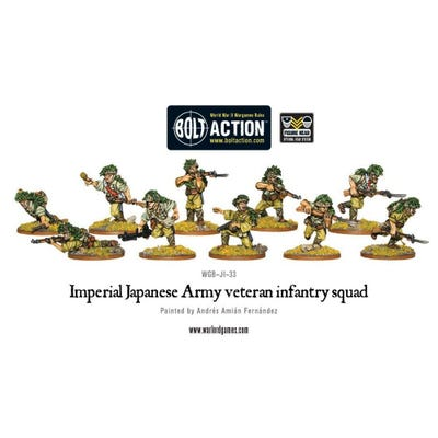 Japanese Veteran Infantry Squad