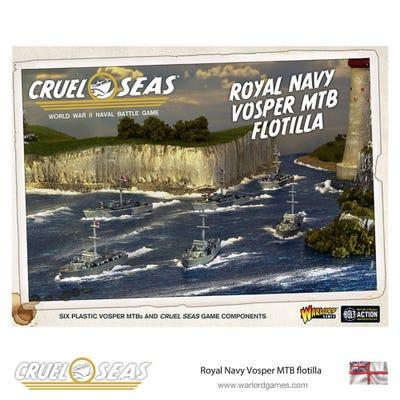 Cruel Seas Royal Navy Vosper MTB Flotilla