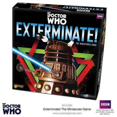 Exterminate! Dr Who Miniatures Games