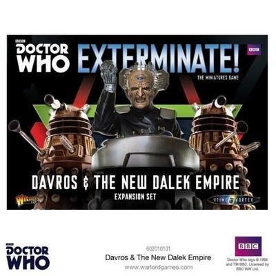 Daleks & Davros Expansion Set