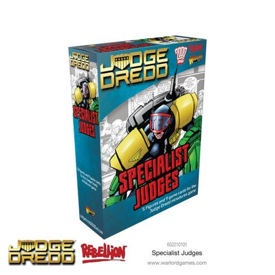 Judge Dredd - Specialist Judges
