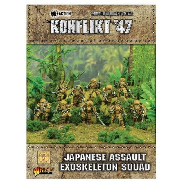 Japanese Assault Exo Skeleton Squad