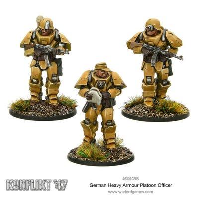 German Heavy Armour Platoon Officers