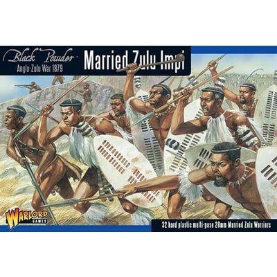 Anglo Zulu War Married Zulu Impi