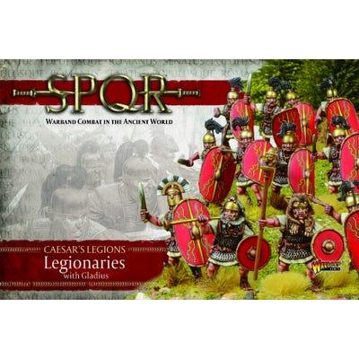 SPQR: Caesar's Legions - Legionaries with Gladius and Sling