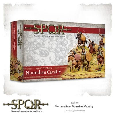 Mercenaries Numidian Cavalry