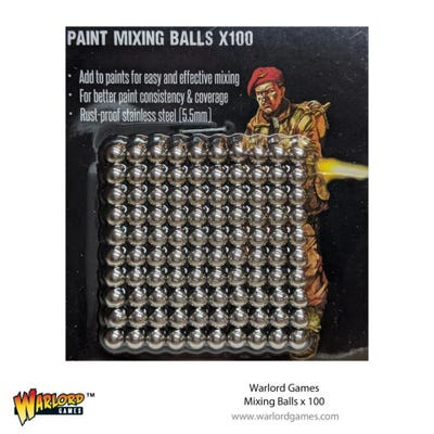 Warlord Mixing Balls (100)