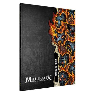 Malifaux Burns Expansion Book