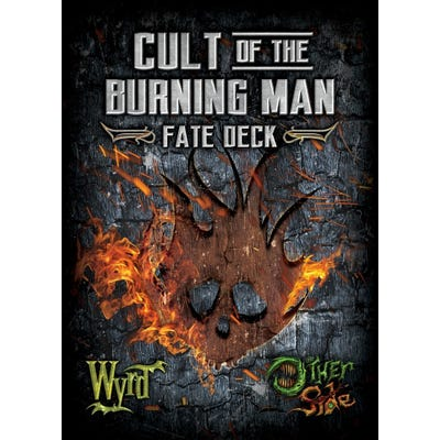 Cult of the Burning Man Fate Deck