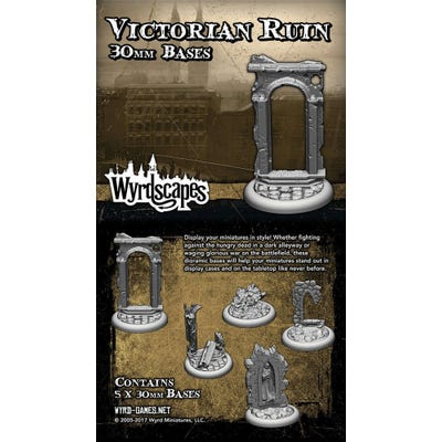 Wyrdscapes Victorian 30mm Bases - 5 Pack