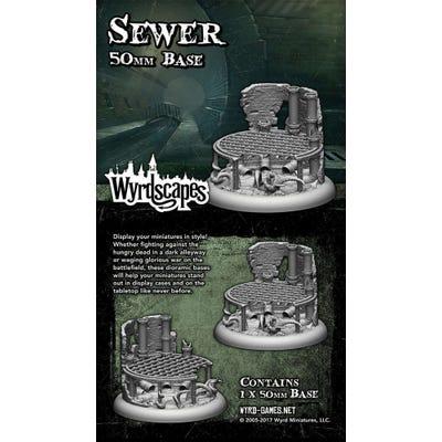 Wyrdscapes Sewer 50mm Base