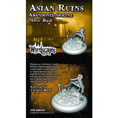 Wyrdscapes Asian Ruins 50mm Base II - Ruins