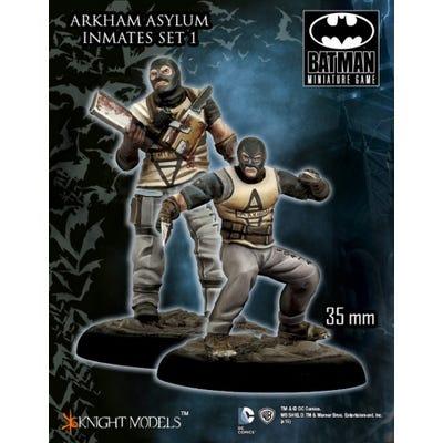 Arkham Asylum Inmates - Metal