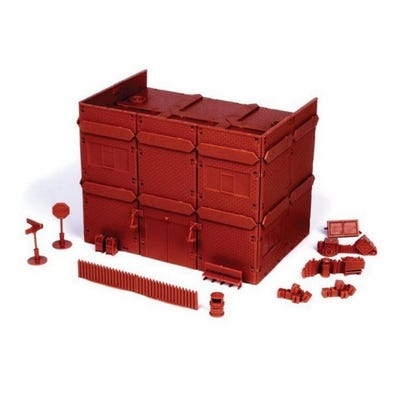 Red Brick Terrain - Apartment Block