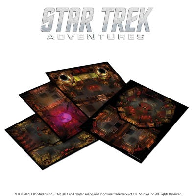 Star Trek Adventures: Next Generation Klingon Tile Set