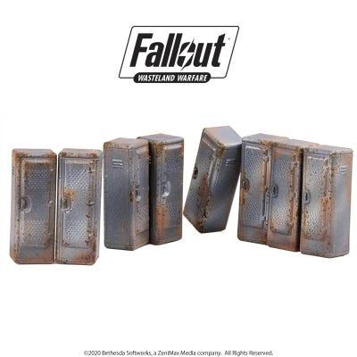 Fallout: Wasteland Warfare - Terrain Expansion: Vault Tec Lockers