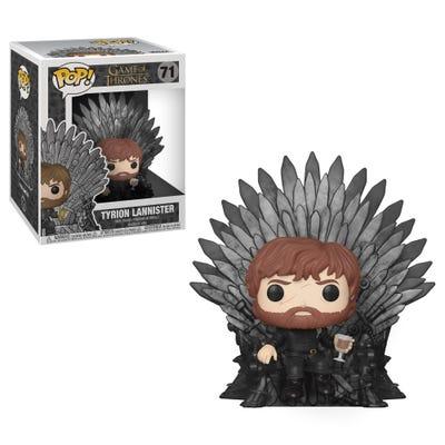 POP! Vinyl Deluxe: Game of Thrones S10 - Tyrion Sitting on Iron Throne
