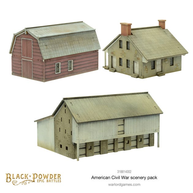 Black Powder Epic Battles: American Civil War Scenery Pack