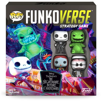 POP! Funkoverse: The Nightmare Before Christmas 100 - 4 Pack