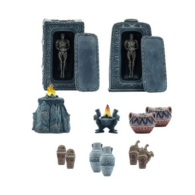The Elder Scrolls: Call to Arms - Nord Tomb Scatter Terrain Set