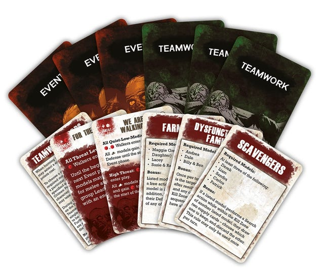 Teamwork and Event Cards
