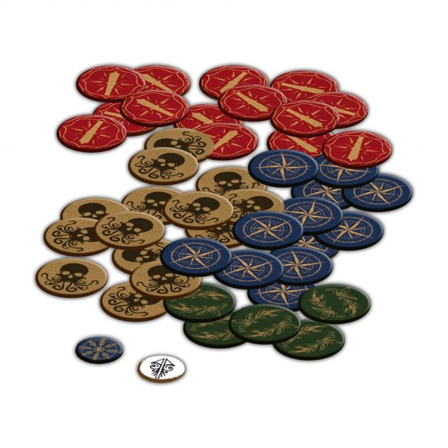Everrain: Acrylic token upgrade pack
