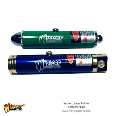 Warlord Laser Pointer and Laser Line