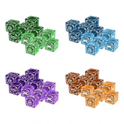 Everrain: 4 player dice bundle