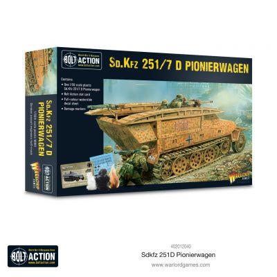 Plastic Sd.Kfz 2510 Pionierwagen